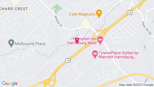 Courtyard by Marriott Harrisburg West/Mechanicsburg Map