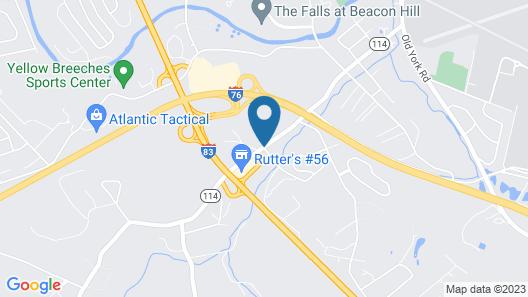 Days Inn by Wyndham New Cumberland/Harrisburg South Map