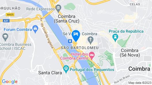 Hotel Oslo Coimbra Map