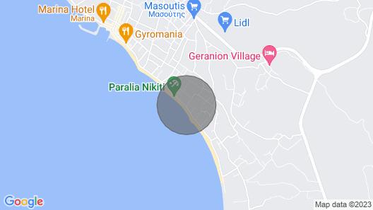 Zennova #22 Nikiti Sea Side House Map