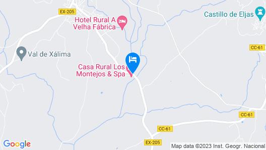 Casa Rural Los Montejos & SPA Map