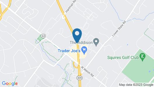 Residence Inn Philadelphia Montgomeryville Map