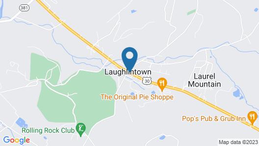 Ligonier Country Inn Map