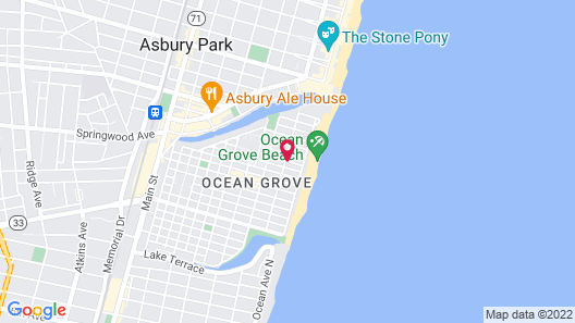 The Ocean Plaza Map