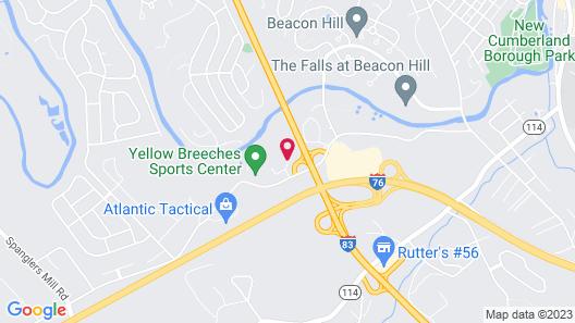 Scottish Inns Harrisburg - Hershey South Map