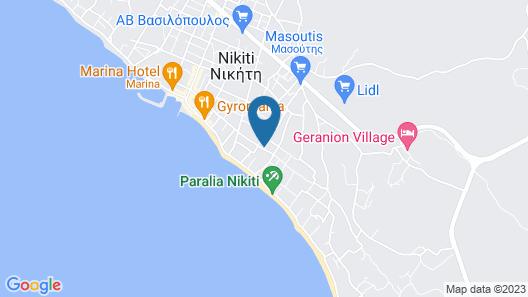 Alexanika Apartments Map