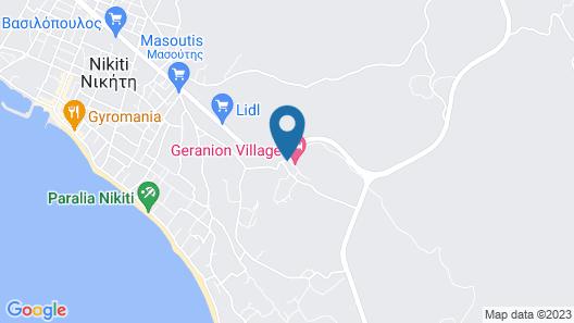 Geranion Village Map