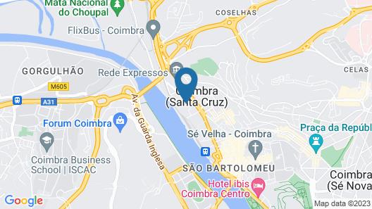 Vila Galé Coimbra Map