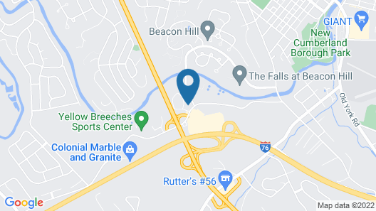 La Quinta Inn & Suites by Wyndham New Cumberland-Harrisburg Map
