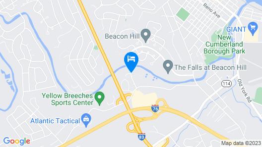 Fairfield Inn & Suites by Marriott Harrisburg West Map