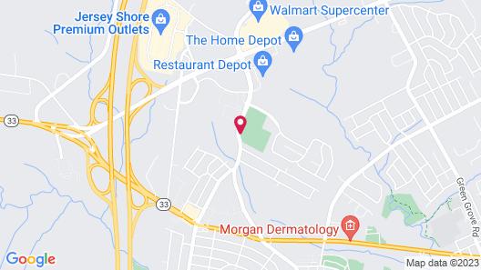 Residence Inn by Marriott Neptune at Gateway Center Map
