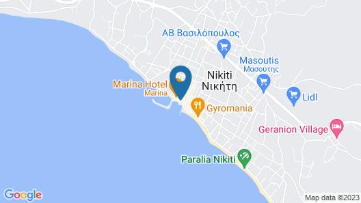 Costa Domus Blue Luxury Apartments Map