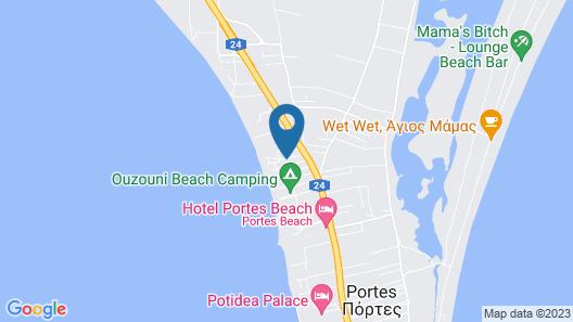 Portes Lithos Luxury Resort Map