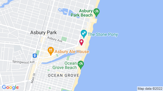 The Empress Hotel & Adult Nightclub Map