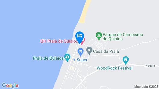 Quiaios Hotel Map