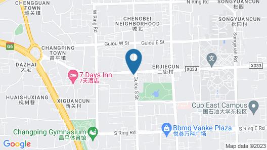 Ibis Beijing Changping Metro Station Hotel Map