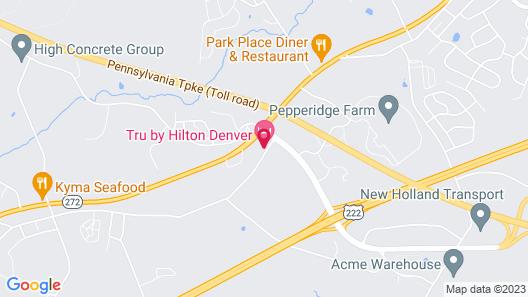 TRU by Hilton Denver Map