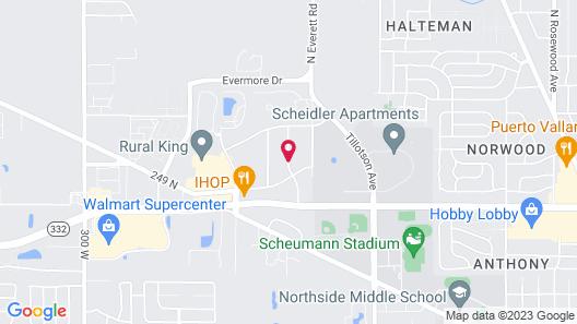 Days Inn by Wyndham Muncie -Ball State University Map
