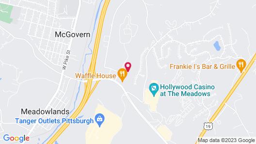 Holiday Inn Express & Suites Washington - Meadow Lands, an IHG Hotel Map