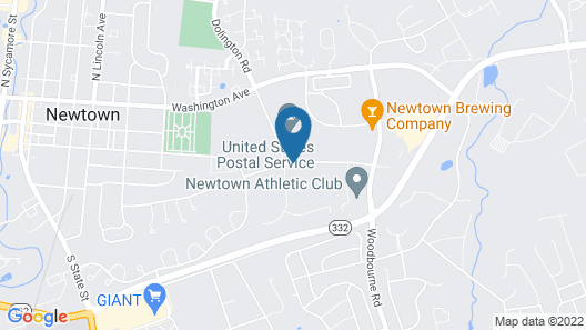 Homewood Suites by Hilton Newtown - Langhorne, PA Map