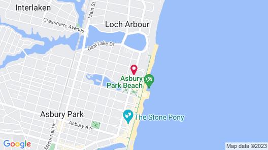 Oceanic Inn Map