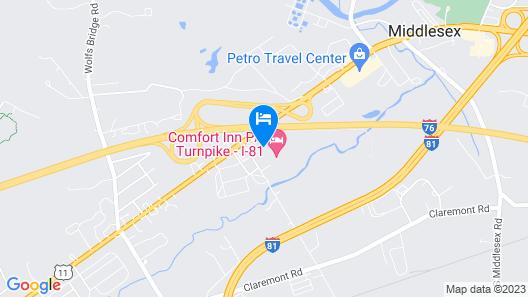 Best Western Carlisle Map