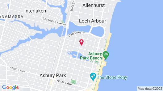 Hotel Tides Map