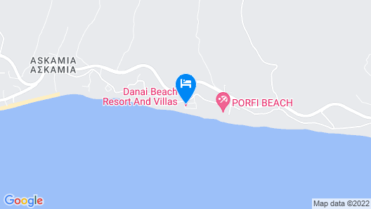 Danai Beach Resort Villas Map