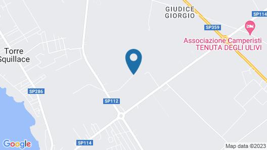 Agri Hotel Conte Salentino Map