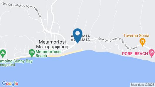 Villa Askamnia Resort Map