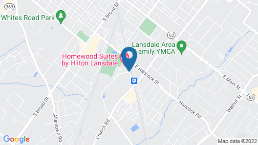 Homewood Suites by Hilton Lansdale Map