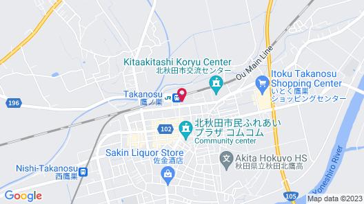 Business Hotel Yagi Map