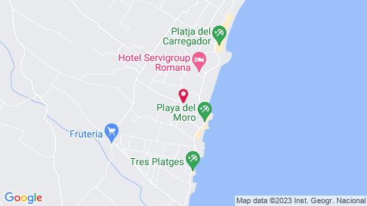 Kione Playa Romana Map