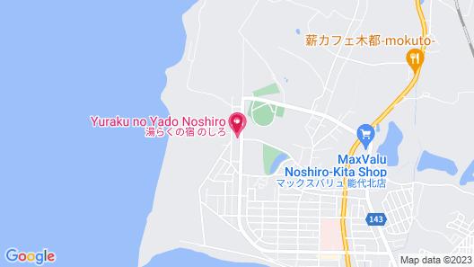 Yuraku no Yado Noshiro Map