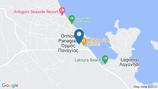 Avra Hotel Map
