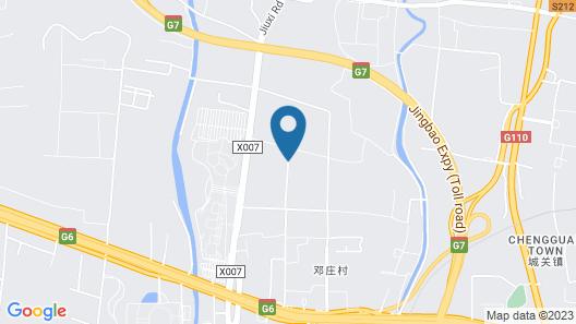 Beijing Marriott Hotel Changping Map