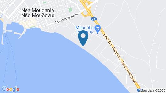 Kalma Villas Map