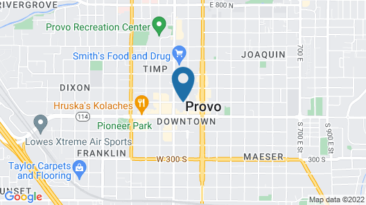 Provo Marriott Hotel & Conference Center Map
