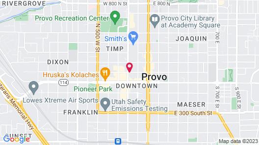 Hyatt Place Provo Map