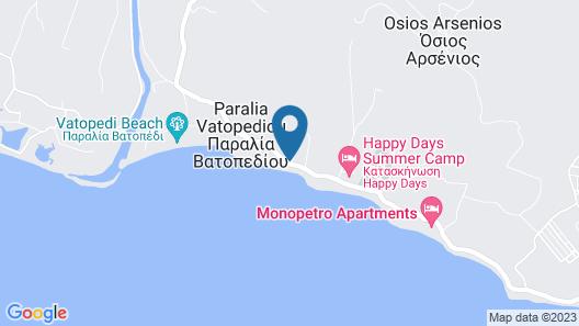 Bianco Olympico Beach Resort - All inclusive Map