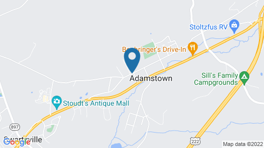 Amethyst Inn Map