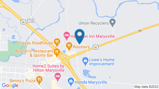 Holiday Inn Express Hotel and Suites Marysville, an IHG Hotel Map