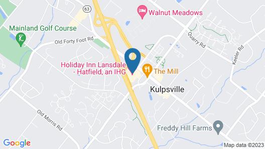 Holiday Inn Lansdale - Hatfield, an IHG Hotel Map