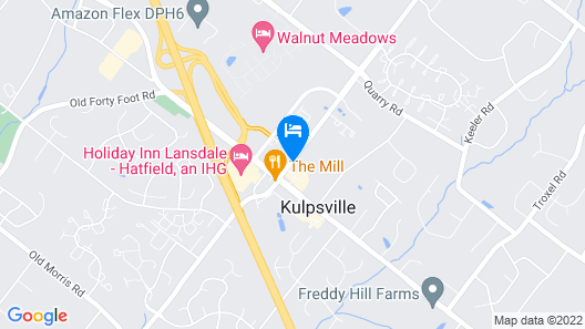 Holiday Inn Lansdale - Hatfield Map