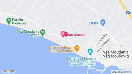 Ikos Oceania - All Inclusive Map