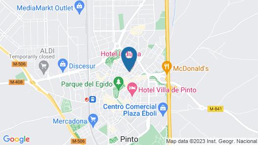 Hotel Indiana Map