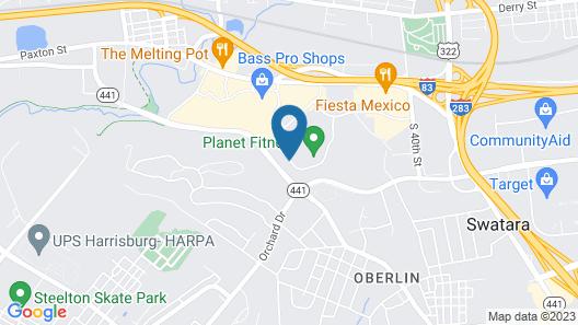 Candlewood Suites Harrisburg - Hershey, an IHG Hotel Map