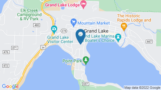 Daven Haven Lodge & Cabins Map