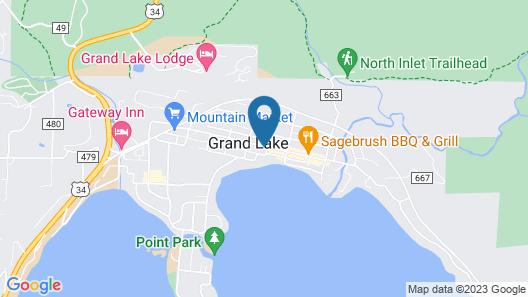 Spirit Lake Lodge and Snowmobile Rentals Map