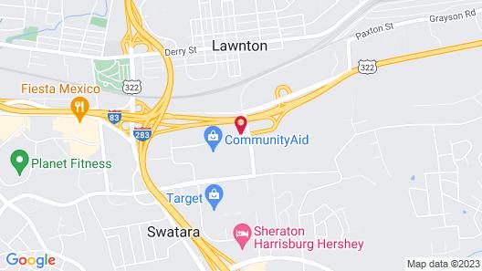Residence Inn by Marriott Harrisburg Hershey Map
